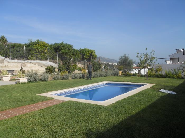Country house located with wonderful sea and mountains views Nerja
