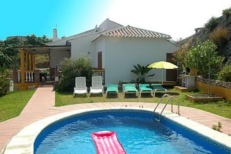 Villa for sale with private pool in Frigiliana on a huge plot