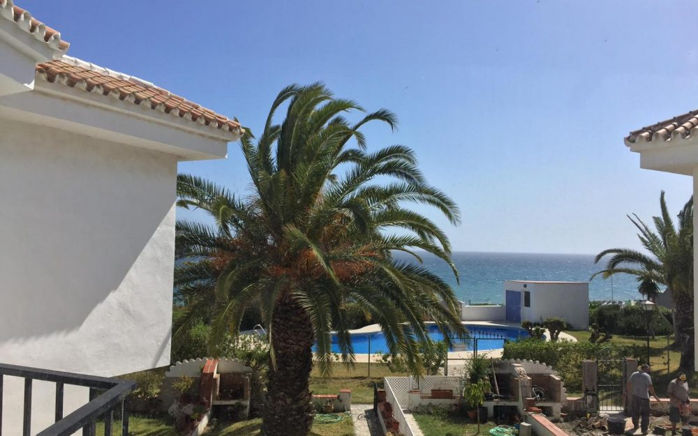 Superbe maison mitoyenne vue mer Peñoncillo Torrox