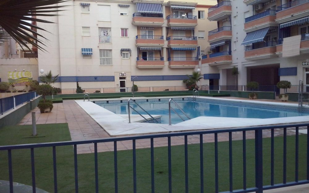 Large apartment for sale with pool  in Torrox Costa , Málaga