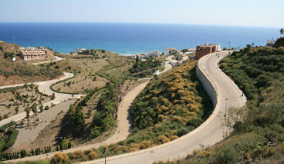 Urban plot for sale in El peñoncillo  Torrox with sea views