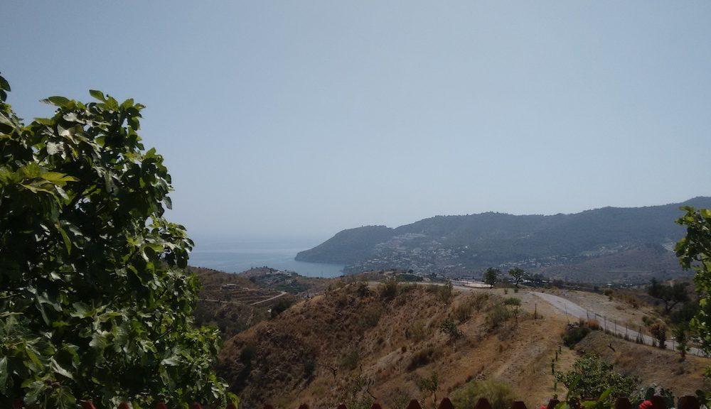 Location charmant et confortable Cortijo vue mer et proche plage La Herradura