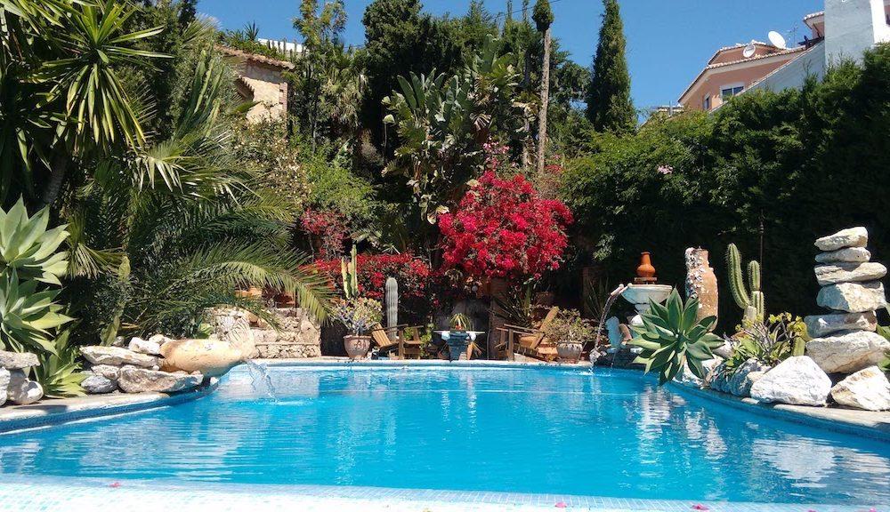 Villa unique avec incroyable vue mer dans un écrin de verdure au Monte de Los Almendros Salobreña en vente