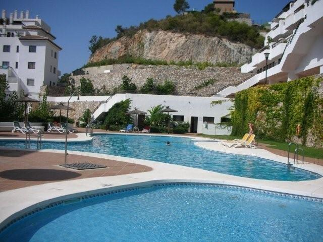 Vente bel appartement avec grande terrasse vue mer et piscine communautaire