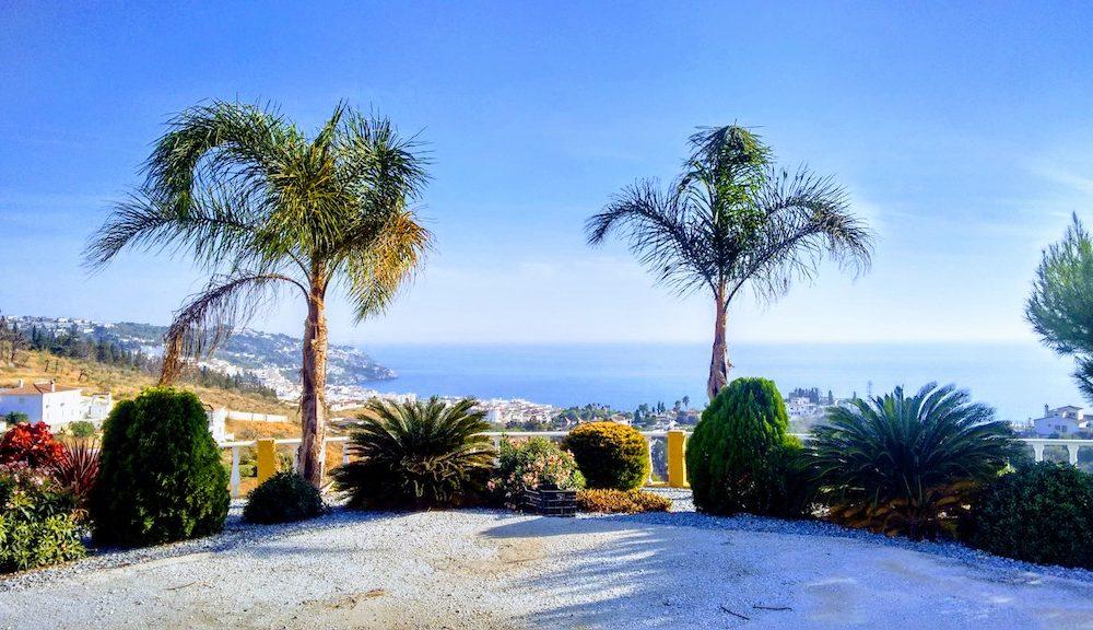 Joli cortijo surplombant la baie de la Herradura avec superbe vue en vente