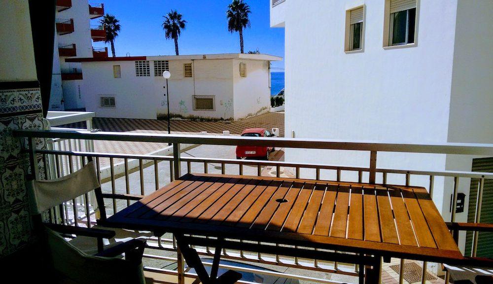 Apartamento cerca de la playa en alquiler en la Herradura