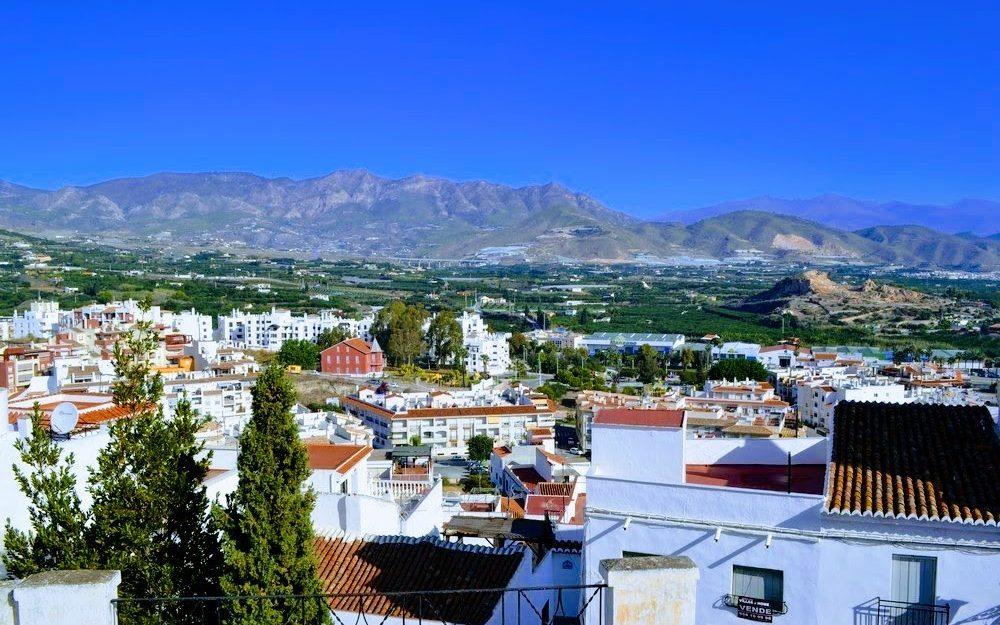 Charmante et vaste maison de village dans le centre historique de Salobreña en vente vues spectaculaires