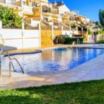 Comfortable house for sale in the quiet residence of La Noria in Nerja with swimming pool and garage