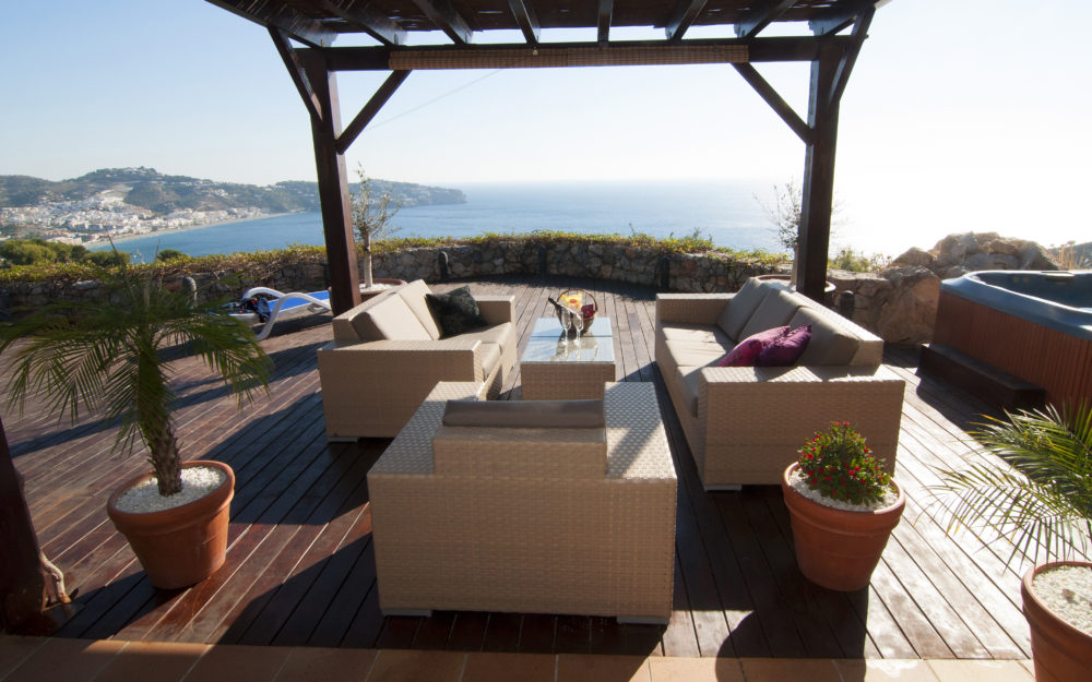 Beautiful house with a unique location in La Herradura