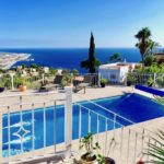Fantastic charming villa in the prestigious urbanization Monte de los Almendros with stunning views over the sea for sale