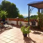 Terrace house with large terrace for long-term rental San Antonio La Herradura