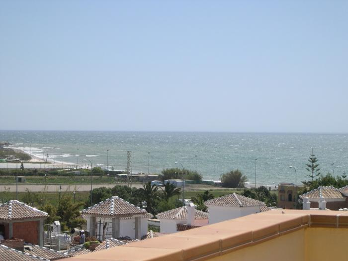 Brandly new detached villa with wonderful sea views for sale in Nerja
