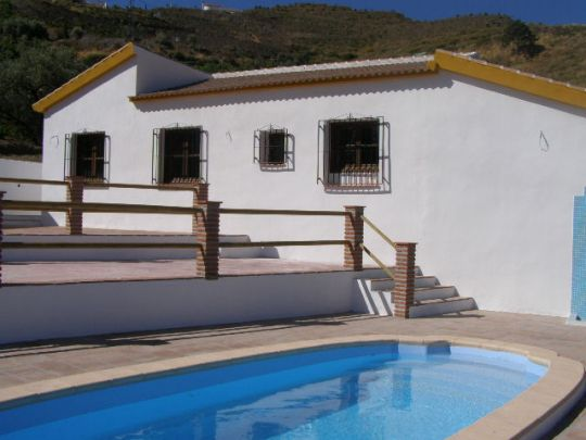 Villa for sale pool in Torrox Competa Road, Málaga