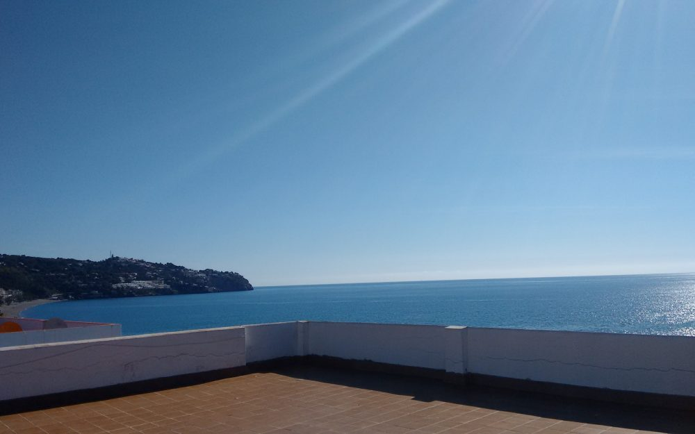 Cosy and sea views apartment for holidays rental in La Herradura