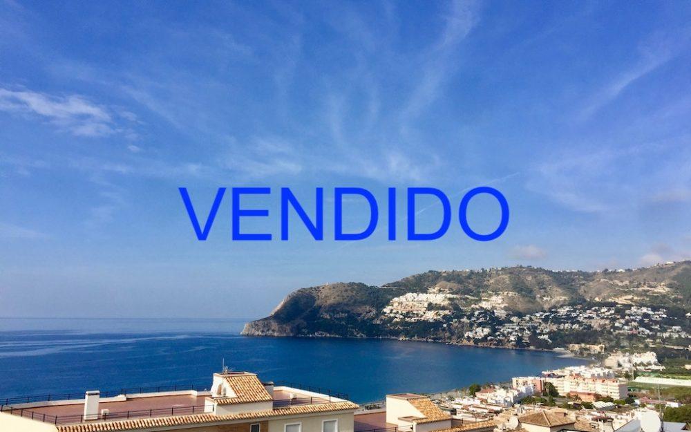 Precioso piso con vistas panorámicas al mar y montaña Maravillas Alta en La Herradura en venta